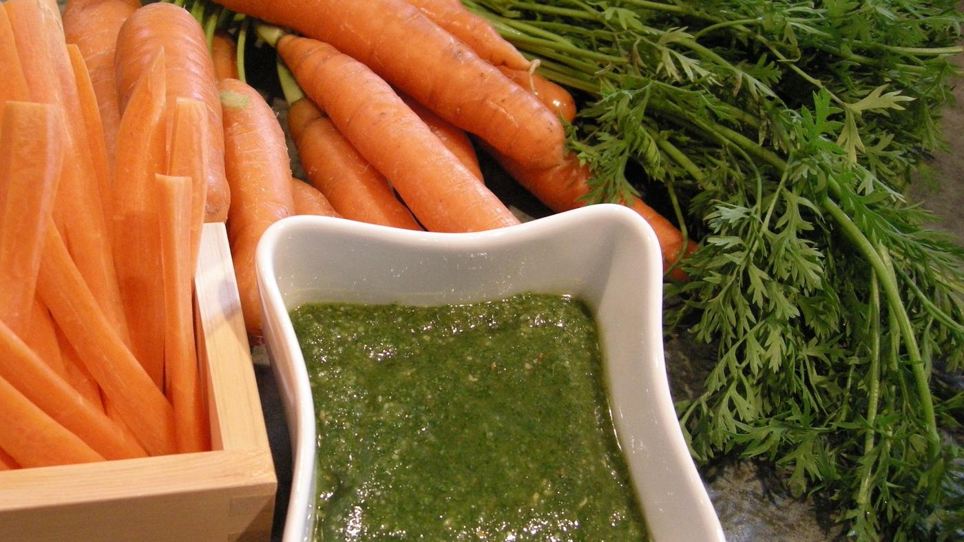 настойка морковной ботвы