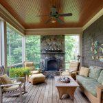 Дизайн веранды частного дома: планировка и отделка террасы с фото