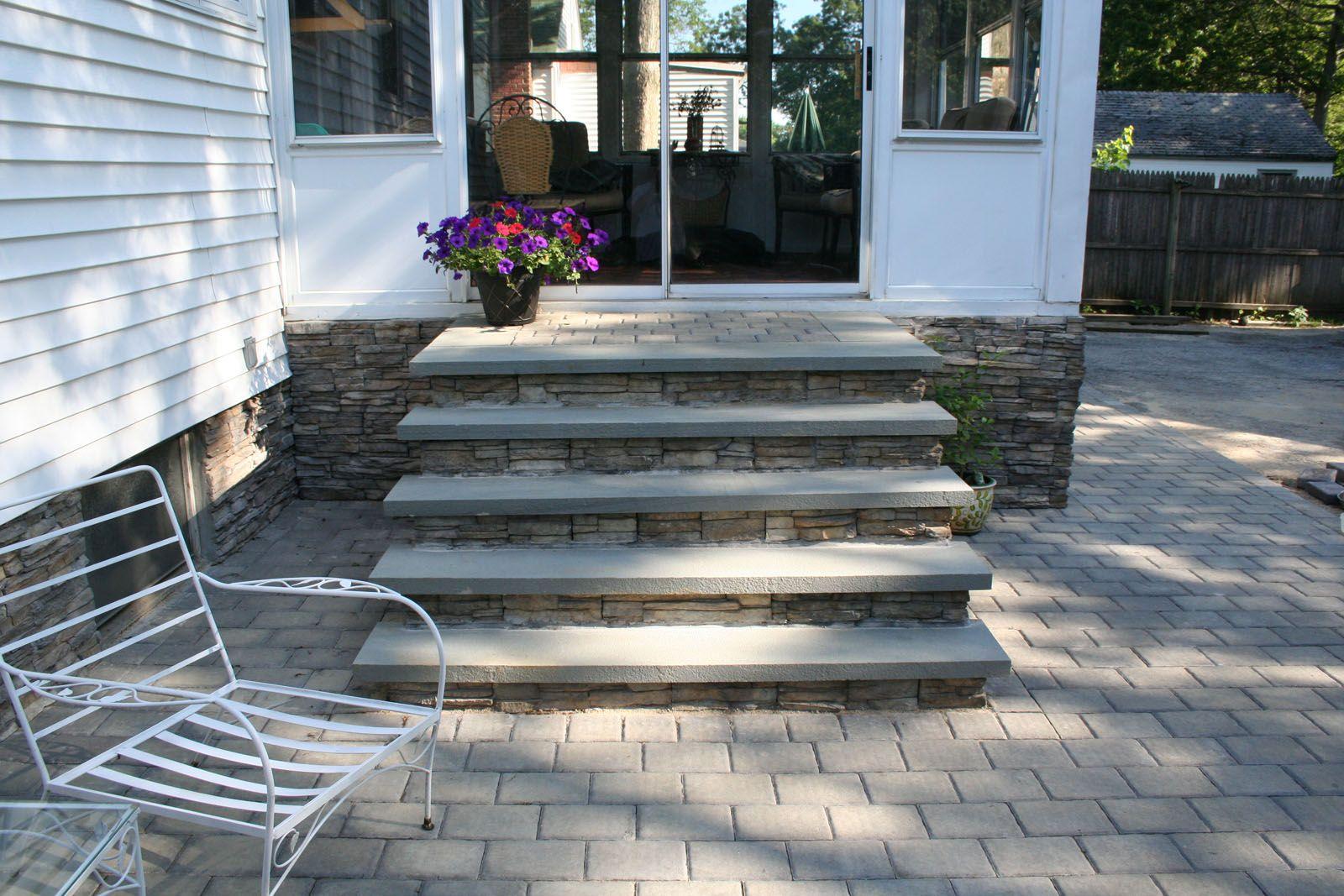 бетонное крыльцо для дома фото
