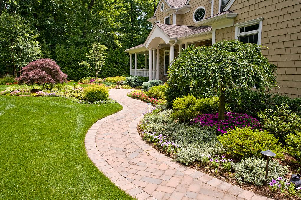 Варианты дизайна садового участка фото