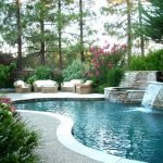 ландшафтный дизайн вокруг бассейна