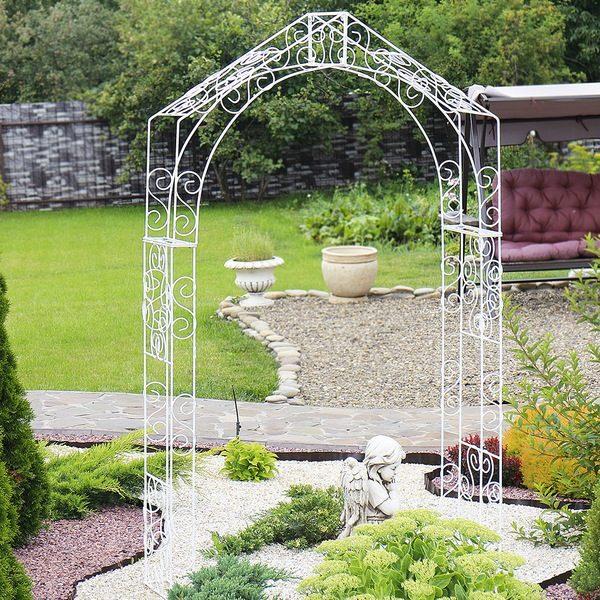 Как сделать арку для сада своими руками
