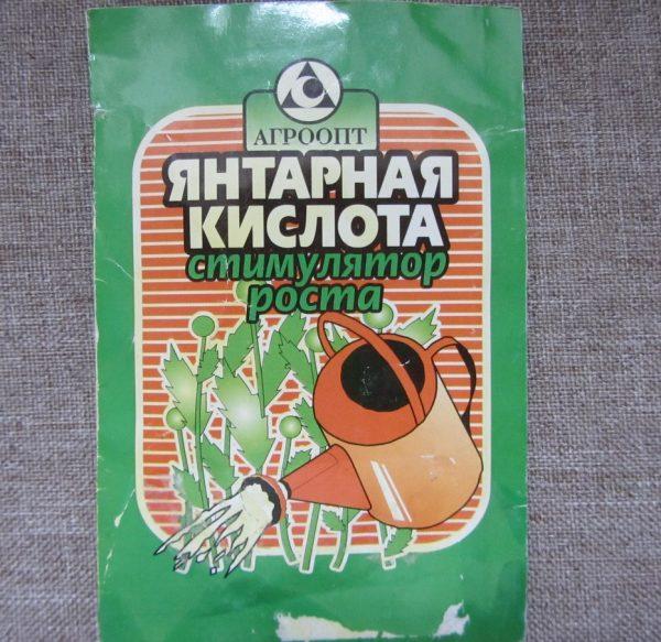 Янтарная кислота для огурцов